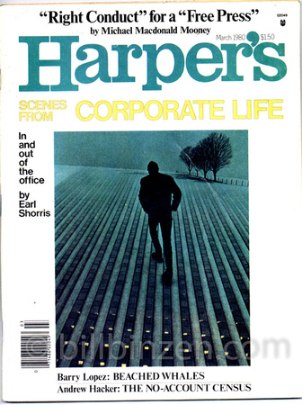 Scenes from the Corporate Life - Harper's, March 1980